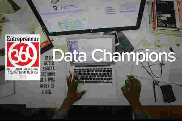 """对于企业家360 """"数据冠军"""" 来说,成功是稳定的、规划的和计划的"""